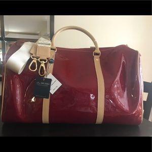 ARCADIA Italian Leather weekender Bag